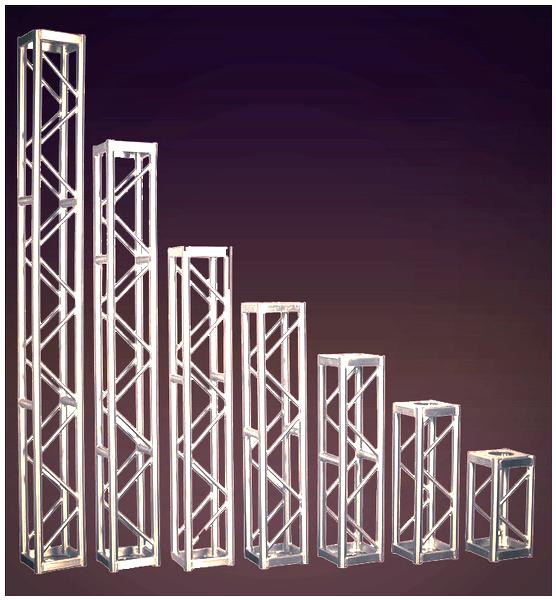 We rent stages, exhibits truss, displays truss, tradeshows truss