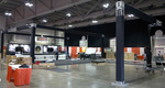 stage set rentals, stage sets, stages for rent, trade show booth truss